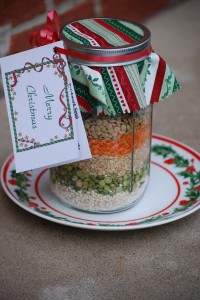How To Make Layered Patchwork Soup Mix