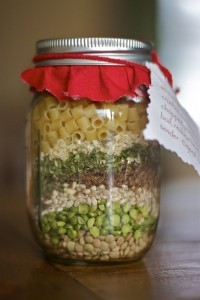 Recipe For Country Soup in a Jar