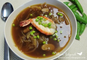 Recipe For Hot and Sour Chicken and Cabbage Soup