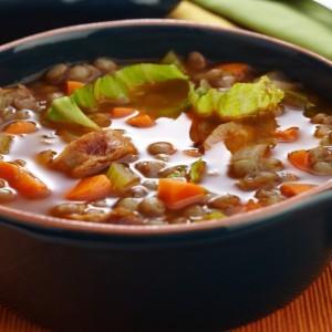 Recipe For Kris' Lentil Sausage Soup