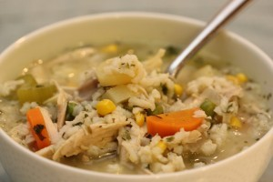 Recipe For Fiesta Chicken Soup