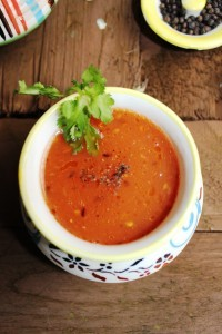 Easy Indian Tomato Soup (Saar) Recipe