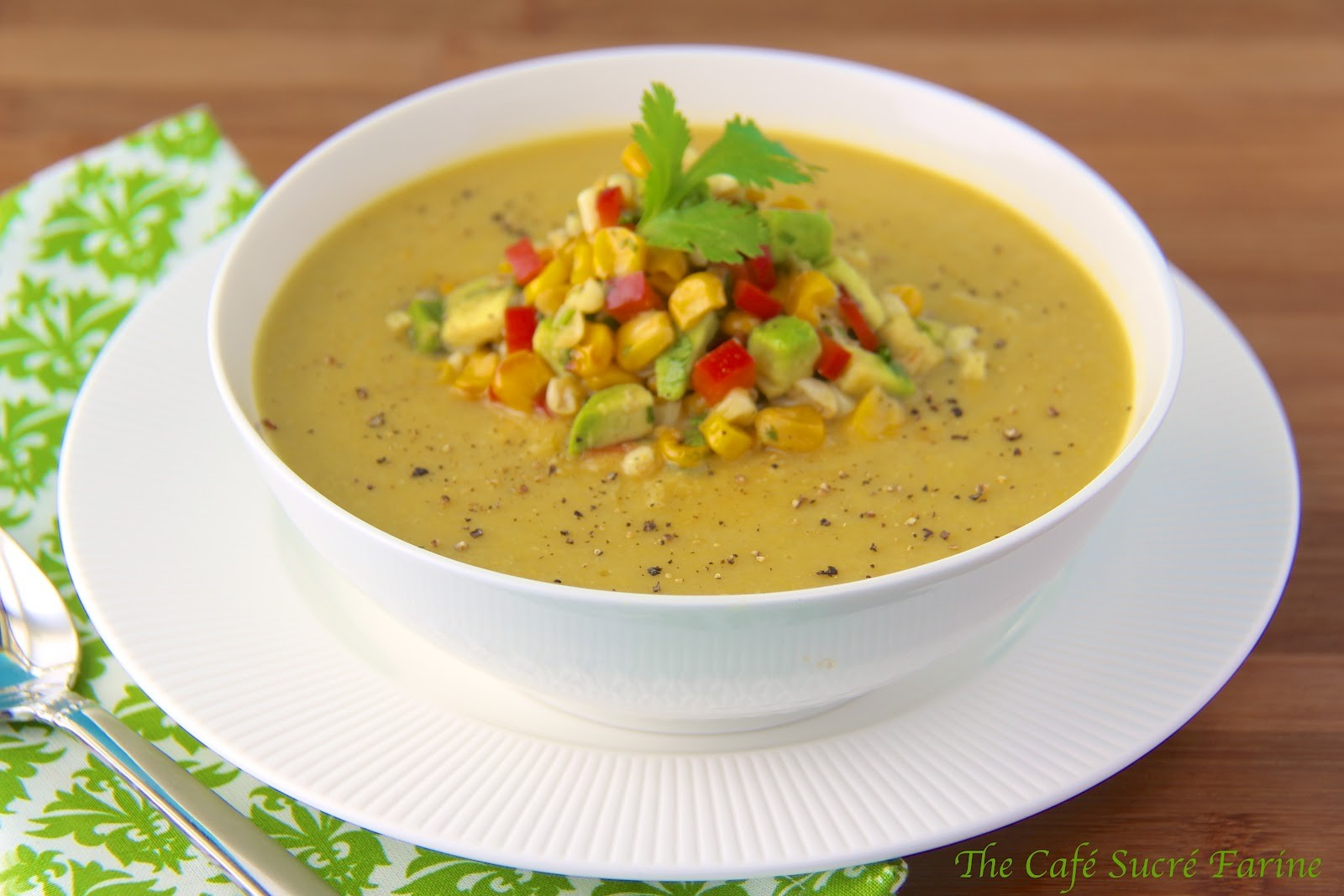 Corn and Egg Flower Soup Recipe : Glorious Soup Recipes