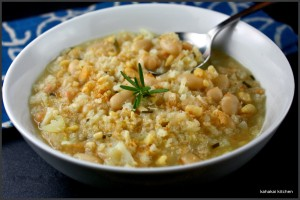 Image courtesy: Recipe For Pine Nut Rice Soup