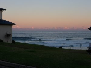 Glorious Sunset on the Kiama coastal walk