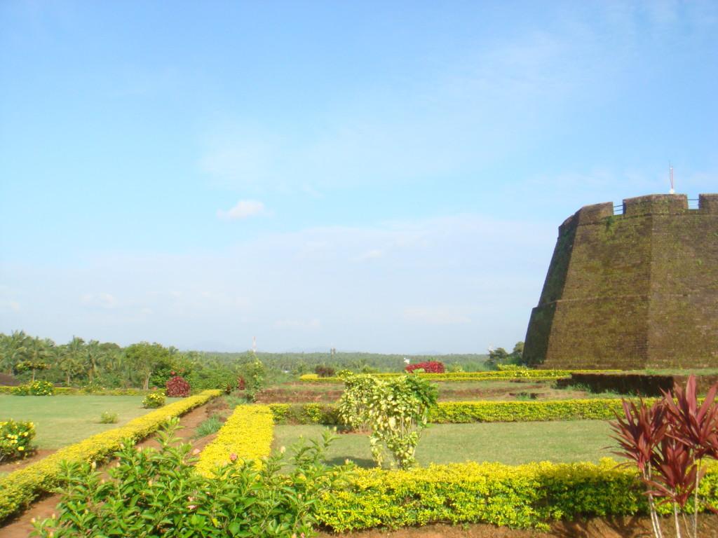 In the Bekal fort