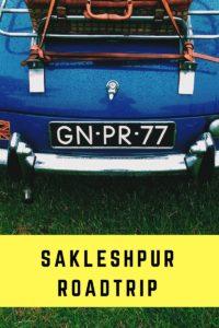 Sakleshpur roadtrip