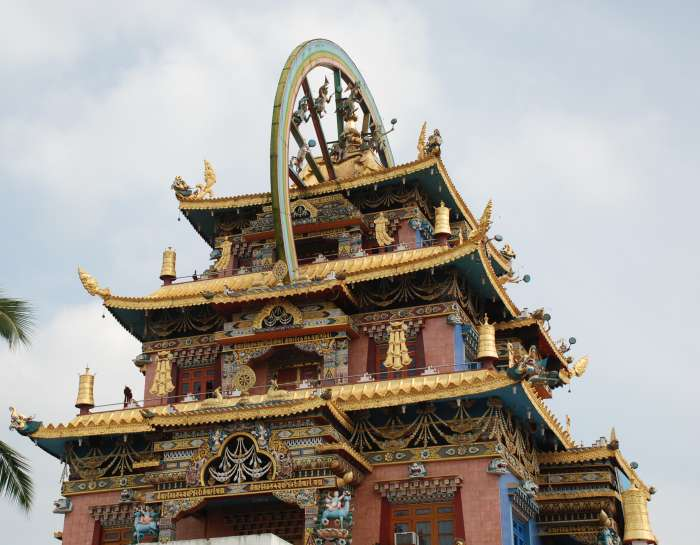 Tibetan Monastery bylakuppe