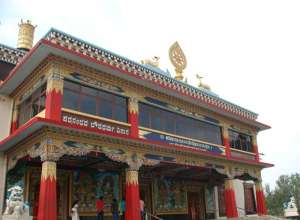 Golden Temple at kushal nagar