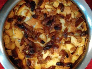 bread pudding recipe - recipe to use leftover bread, stale bread and bread sides