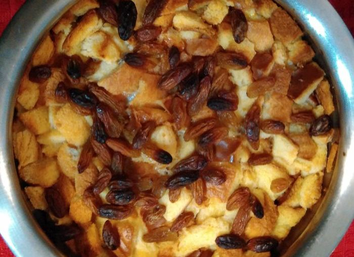 bread pudding recipe - recipe to use leftover bread, stale bread and bread sides
