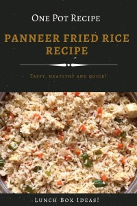 Paneer fried rice recipe is a super hit dish for lunches with family and friends. Do check out this easy, nutritious, veggie-loaded recipe and try it now!