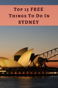 Free things to do in Sydney: These are the top 15 free things to do in Sydney when you are on a tight budget!