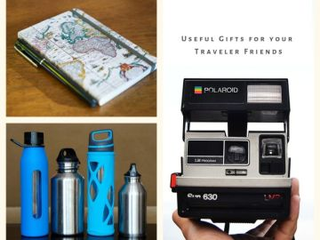 Useful Gift ideas for travel lovers