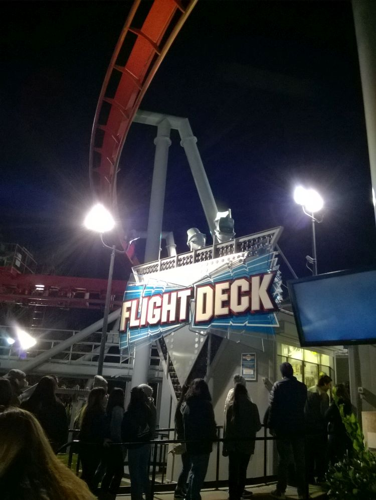 Flight Deck Thrill Ride