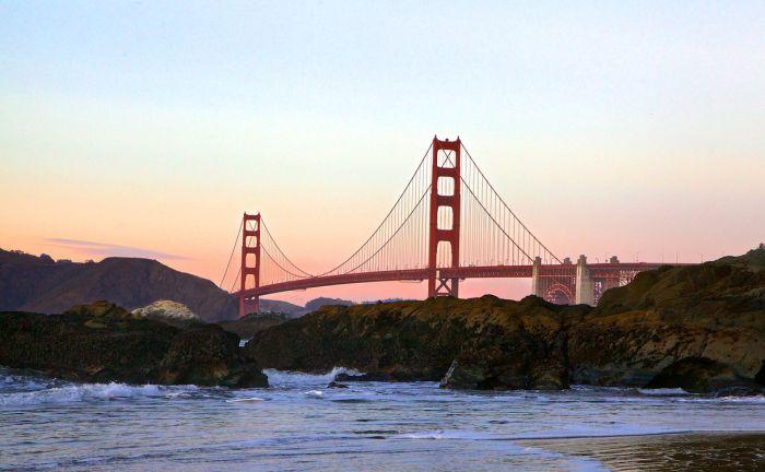 San Francisco with kids golden gate bridge