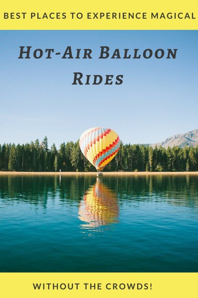 When you can enjoy a hot-air balloon ride in a gorgeous location without any crowds disrupting the experience, it would be a dream come true. So, I have rounded up the best places for hot-air ballooning without the crowds in this post. Enjoy!