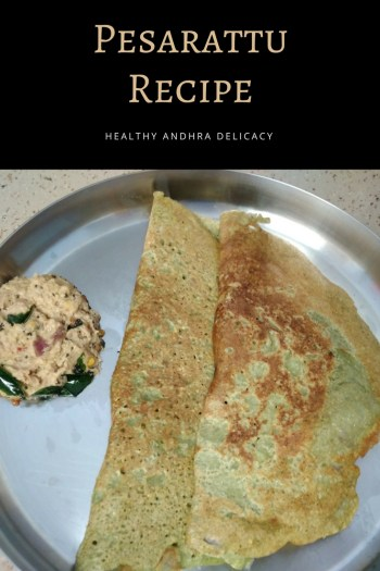 Pesarattu is a delicious Andhra recipe that is packed with protein. It is a healthy snack for hungry kids after school and is very easy to make. Check out this pesarattu recipe and try it now!