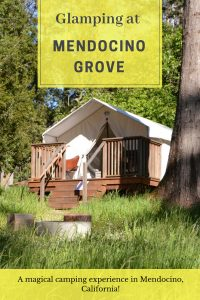 #MendocinoGrove #Glamping #California #Mendocino Mendocino Grove is a beautiful property in the coastal town of Mendocino, California. This glamping location is an absolute treasure to nature lovers. Comfortably roomy tents surrounded by quiet woods overlooking the majestic ocean, this place is truly the best of both worlds.