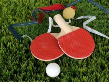 Ping pong as a stress buster