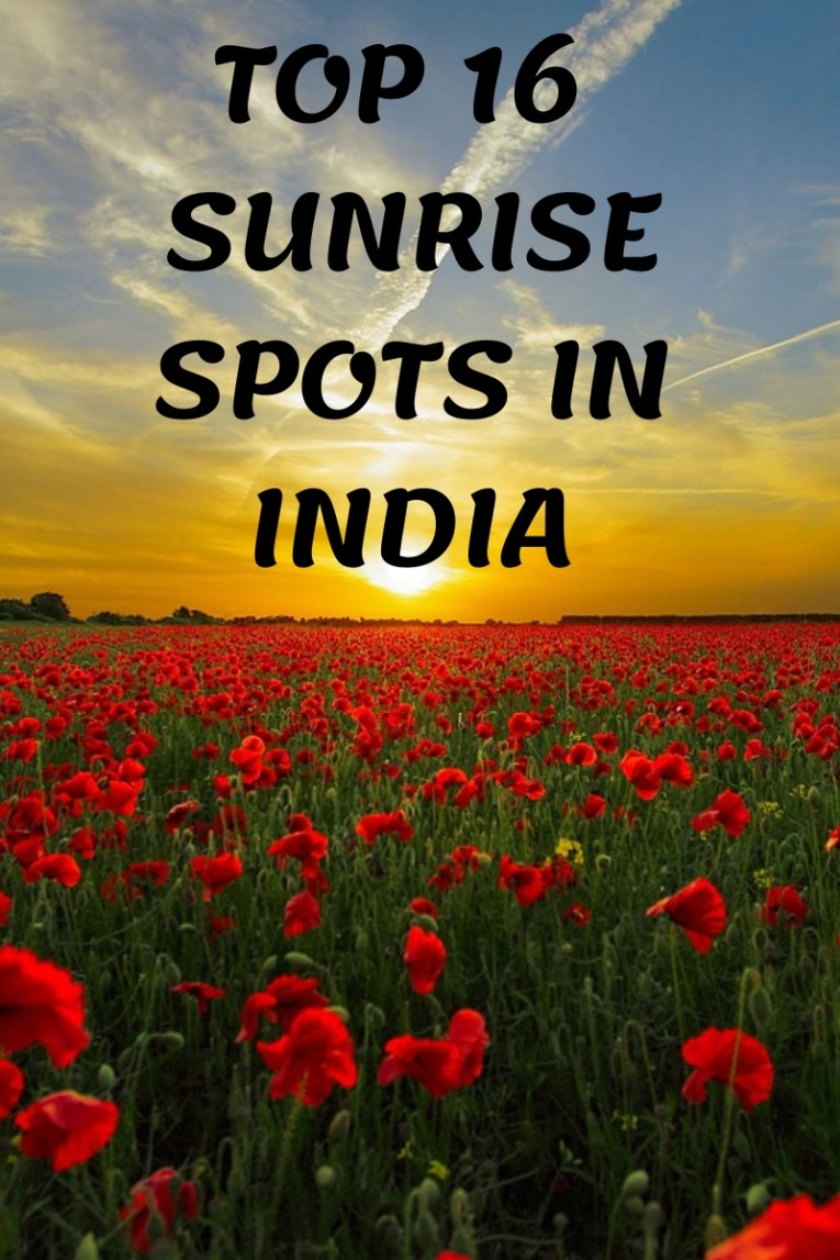 Top 16 spots in India to enjoy glorious sunrises!