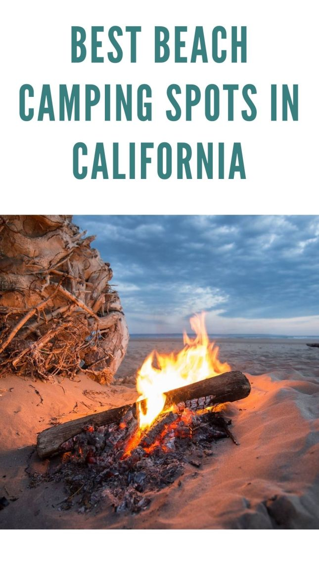 The best beach campground recommendations for camping on the beach in California