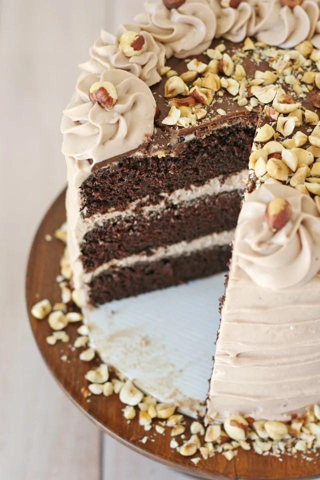 My Cafe Chocolate Cake With Hazelnuts : chocolate, hazelnuts, Chocolate, Hazelnut, Glorious, Treats