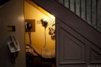 La première chambre de Harry, dans le placard de l'escalier...