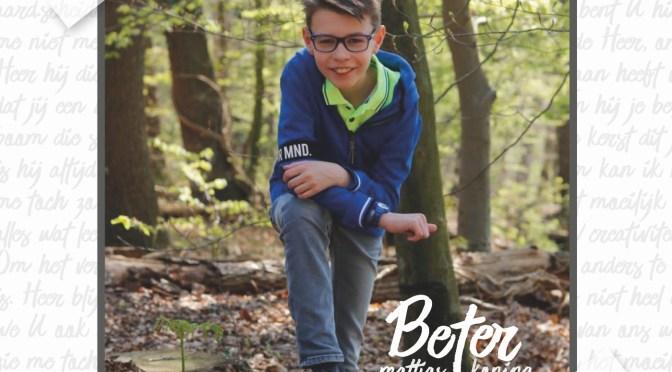 12-jarige Mattias brengt CD met eigen liedjes uit
