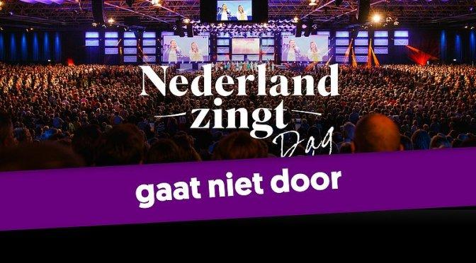 Nederland Zingt Dag 2020 afgelast vanwege coronamaatregelen