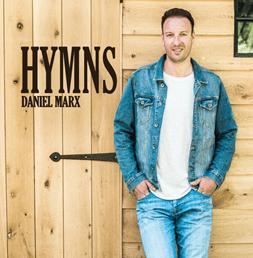 Daniël Marx is dit jaar terug met zijn derde studio-album 'Hymns', ditmaal voor het eerst in het Engels