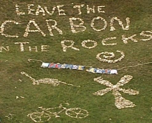 Keep the carbon in the rocks 2