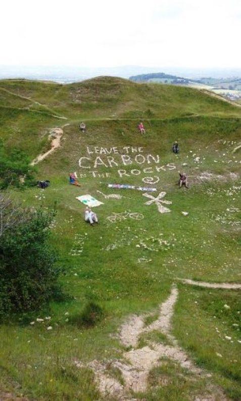 Carbon written in the rocks