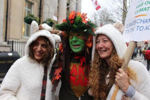 earthman on london demo nov 2015