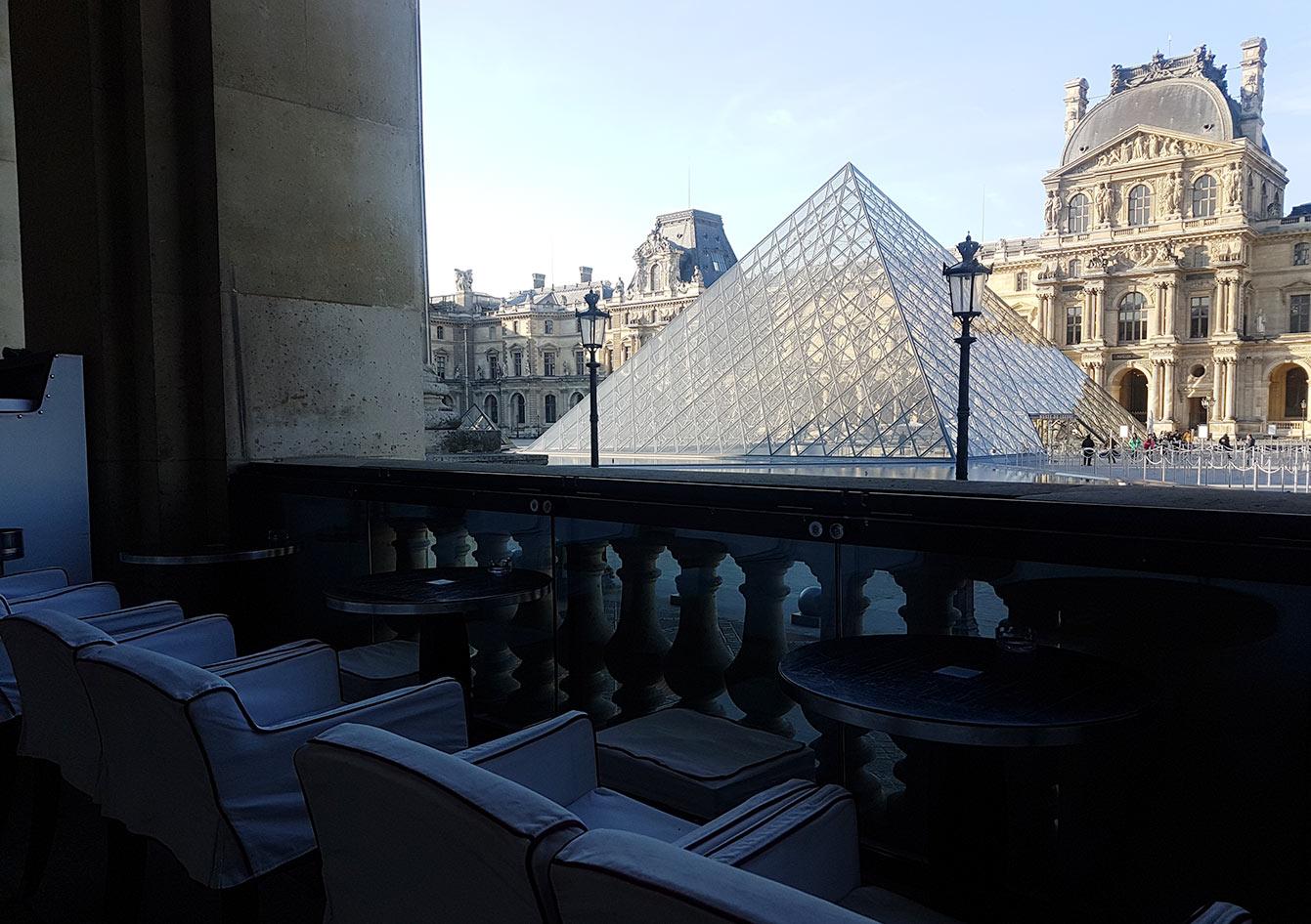 Restaurant Cafe Marly Paris