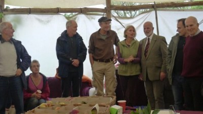Alan Watson, Dave Kaspar, Helen Brent-Smith and Charles Martell