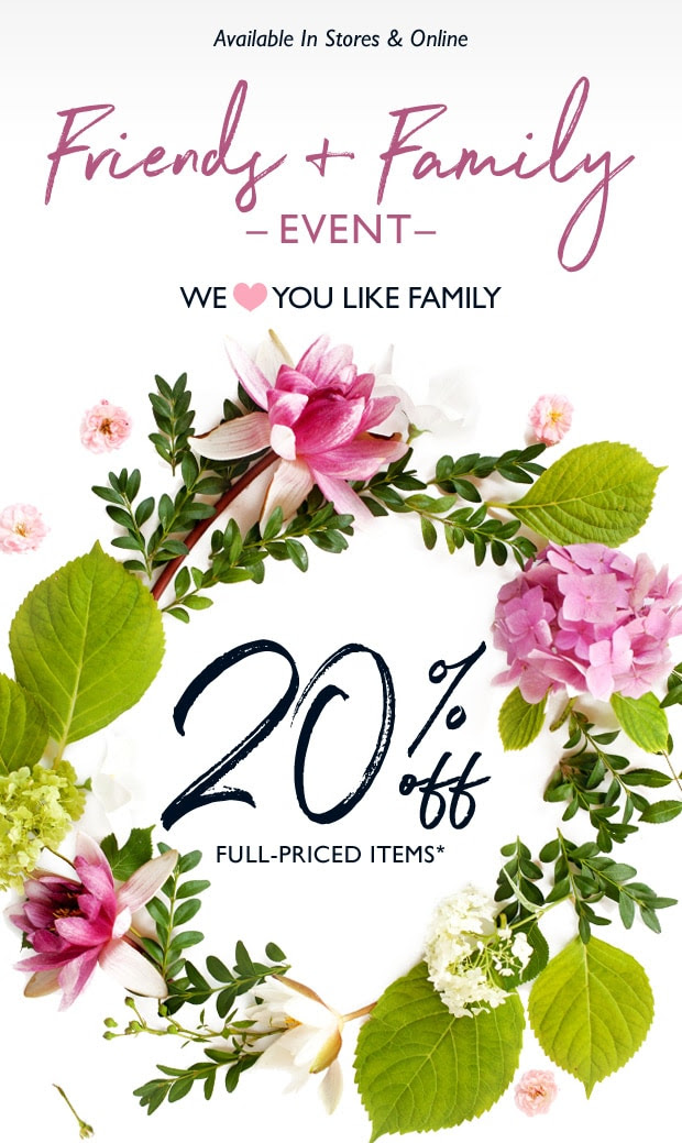 L'Occitane Canada Friends and Family Sale Event - Glossense