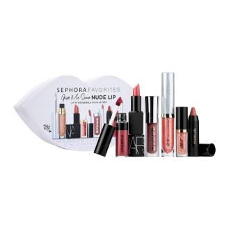 Sephora Canada Give Me Some Nude Lip April 2018 - Glossense