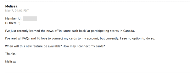 Ebates Canada In-Store Cash Back Shop In Store Get Cash Back Canadian Stores Exclusive First Look 1 - Glossense