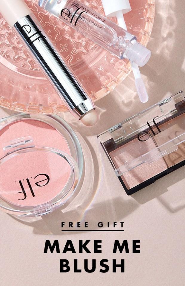 Elf Canada Free Make Me Blush Gift Set - Glossense