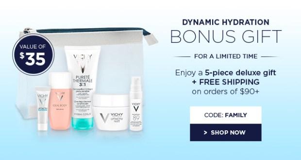 Vichy Canada Free Bonus Gift May 2018 - Glossense