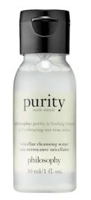 Sephora Canada Free Philosophy Purity Micellar Water Cleanser Sample - Glossense