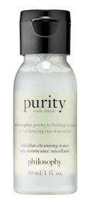Sephora Canada Free Philosophy Purity Micellar Water Cleanser Sample - Glossense