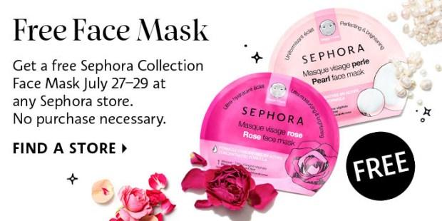 Sephora Canada Free Sephora Collection Face Mask - Glossense