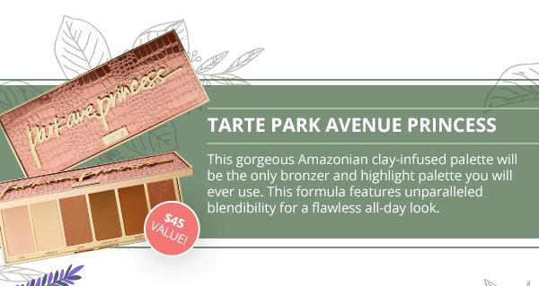 BoxyCharm Canada BoxyLuxe Canadian Beauty Subscription September 2018 Spoiler Tarte Park Avenue Princess Bronzer Highlighter Palette - Glossense