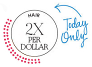 Sephora Canada Beauty Insider Canadian Rewards Program Earn Double Points Redeem Prizes Hair Care HairCare Products September 2018 - Glossense