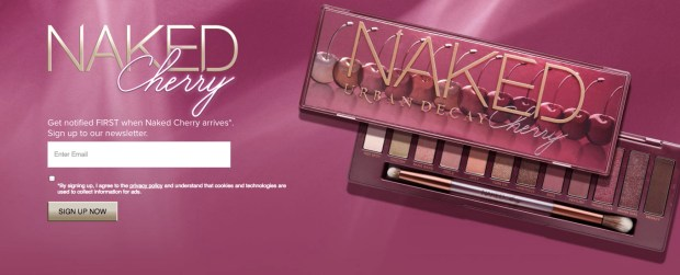 Urban Decay Canada Naked Cherry Eyeshadow Palette Coming Soon - Glossense