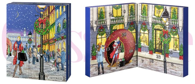 Beauty by Shoppers Drug Mart Canada SDM Beauty Boutique ARTDECO 2018 Holiday Advent Christmas Canadian Calendar - Glossense