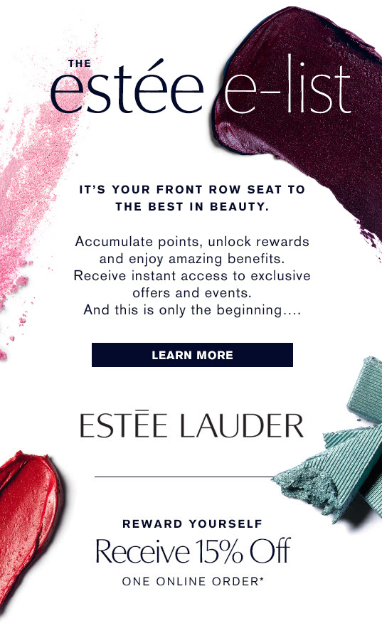 Estee Lauder Canada Canadian Coupon Promo Code Newsletter Sign up Deal Offer Discount Savings Subscribe - Glossense
