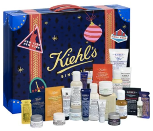 Hudson's Bay Canada The Bay HBC Kiehl's Since 1851 Canadian Christmas Holiday 2018 2019 Advent Calendar Just Released Unboxing - Glossense